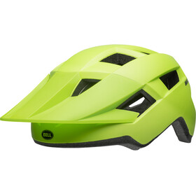 Bell Spark Kask rowerowy, matte bright green/black